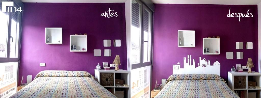 Camas sin respaldo ideas para decorar la habitaci n - Camas sin cabecero ...